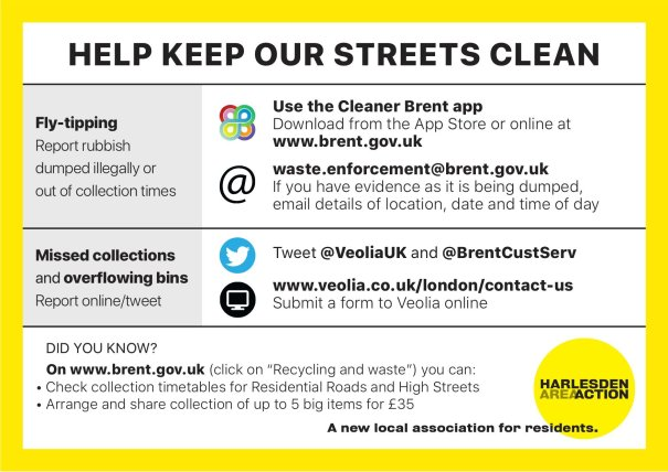 haa - keep our streets clean