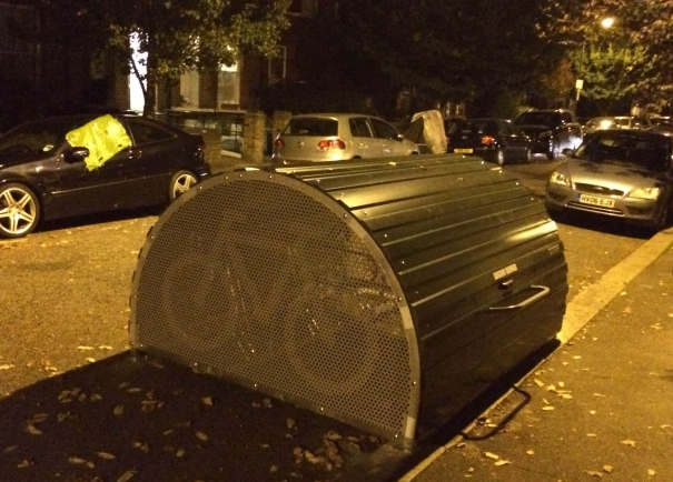 Dunster Gardens Bike Hangar - 24 Oct 2018 7:30pm