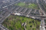 Paddington Old Cemetery from the air