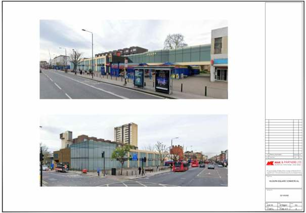 Kilburn Square redeveloped